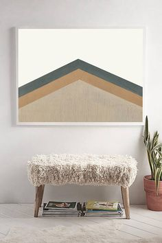 Printable Abstract Mid Century Modern Print   Painting   Triangles   Geometric Print   Scandinavian Print   Scandinavian Wall Art   Neutral  PLEASE NOTE:  This listing is an INSTANT DIGITAL DOWNLOAD OF THIS PRINT. No physical artwork will be sent. **A PRI