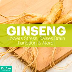 Ginseng benefits - Dr. Axe http://www.draxe.com #health #holistic #natural
