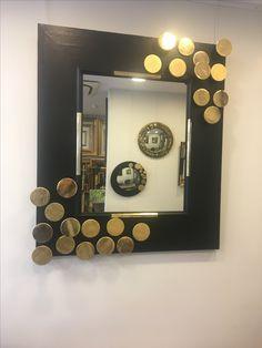 Sur ma planete  .... Frame, Home Decor, Mirror, Picture Frame, A Frame, Interior Design, Frames, Home Interior Design, Home Decoration