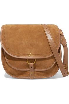 3f556b7c0e Jérôme Dreyfuss - Felix Large Leather And Suede Shoulder Bag - Brown
