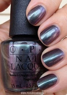 OPI Peace & Love & OPI - bought this today! An amazingly complex duochrome. Don't have anything like it :)