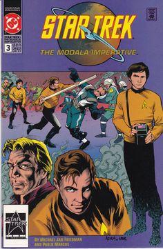Star Trek Original Series The Modala Imperative #3 1991 DC Comics