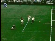 West Germany 3 Hungary 2 in 1954 in Bern. Zoltan Czibor taps home to make it 2-0 on 8 mins at the World Cup Final.