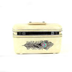 Peacock Train Case, $70, now featured on Fab.