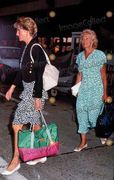 Princess Diana & her mother