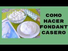 YouTube Yolanda Cakes, Homemade Fondant, Cake Youtube, How To Make Homemade, Frosting Recipes, Cake Tutorial, 3 Ingredients, Deserts, Make It Yourself