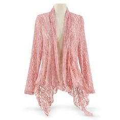 Tea Rose Lace Jacket - New Age, Spiritual Gifts, Yoga, Wicca, Gothic, Reiki, Celtic, Crystal, Tarot at Pyramid Collection
