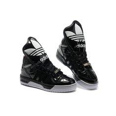new arrival d1f47 0416e authentic Women s adidas Originals Metro Attitude Logo W Shoes - Black White  Coat of paint