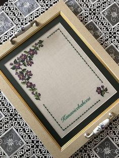 Cross Stitch Kitchen, Walnut Shell, Cross Stitch Borders, Embroidery Hoop Art, Bargello, Diy Arts And Crafts, Crochet Stitches, Needlepoint, Floral