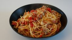 Receta Espagueti Con Salchichas                              …