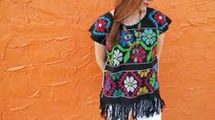 Image result for mexican san antonio sleeveless blouse Mexican Top, Short Sleeve Dresses, Dresses With Sleeves, San Antonio, Sleeveless Blouse, Image, Tops, Fashion, Moda