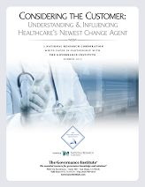 Considering the Customer in Healthcare [National Research Corporation]