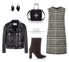 """""""Get the spring look"""" by iutta on Polyvore featuring Jill Stuart, Acne Studios, Leather, Boots, bag, suede and iutta"""