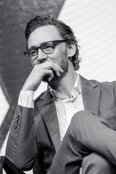 Tom Hiddleston. #InfinityWar promo in South Korea. Via Twitter.