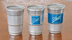 The War On Beer Pong Continues With Ball's Aluminum Cups | Dieline