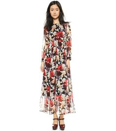 Miramar Maxi Dress via @WhoWhatWear