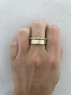 Gold Wedding Bands, Thick Wedding Bands, Gold Band Engagement Rings, Wedding Bands For Her, Baguette Engagement Ring, Baguette Ring, Wedding Rings, Raw Diamond Rings, Diamond Bands
