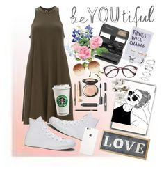 """""""Garden💐"""" by jesus334 ❤ liked on Polyvore featuring DailyLook, Impossible, Converse, Linda Farrow, Parlane and Erickson Beamon"""