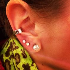 #piercings Cute :) I do want at least one more on each lobe eventually and my cartilage done