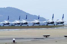 Blue Impulse(JASDF ASHIYA AIR-BASE)