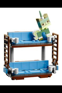 The Lego Movie: Emmet's couch.