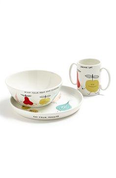 kate spade new york 'crunch bunch' plate, bowl & mug | Nordstrom