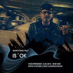 """Search aka Pille nä. Videoauskopplung aus seinem aktuellen Mixtape """"Der erleuchtete Wahnsinn 2"""" zu """"Is' OK""""   Am Freitag um 18 Uhr auf -  http://www.youtube.com/user/ClassTelevision"""