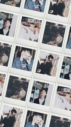 Kyungsoo, Chanyeol, Preppy Stickers, Polaroid Photos, Do Kyung Soo, Kpop Exo, Happy Fun, Photo Book, Blessed