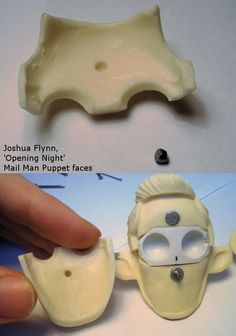 Joshua Flynn: Puppet Head Sculpt- Mail Man Part III