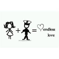 Me plus my Marine equals endless love - MilitaryAvenue.com