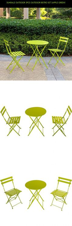 Sundale Outdoor 3Pcs Outdoor Bistro Set (Apple Green) #plans #products #gadgets #no #camera #shopping #kit #furniture #technology #parts #racing #patio #drone #fpv #assembly #tech