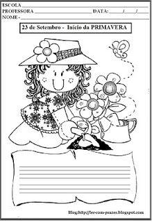 Ler com prazer: 23 de Setembro - Início da Primavera.