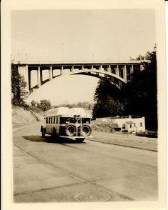 Vista Ave viaduct 1930