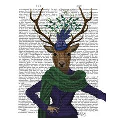 deer-and-fascinator-fabfunky-cad-eauonline