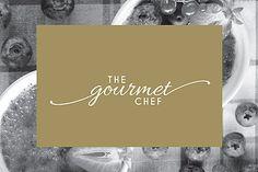 The Gourmet Chef. Branding. Logo. Print Design. Graphic Design. Stationary