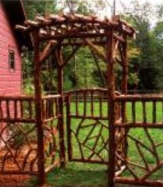 Twig arbor Cabin Fever: Rustic Style comes Home [Hardcover] Rachel Carley (Author)