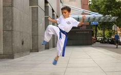 """Flying Side Kicks 