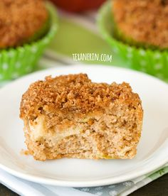 Gluten–free and grain–free apple muffins – super moist, simple and delicious!   texanerin.com