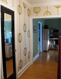 """gold paint pen """"wallpaper"""": not for the faint-hearted!"""