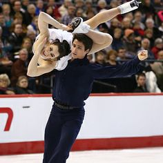 17 Hot Canadian Athletes Who Will Literally Melt The Winter Olympics - Found via Buzzfeed - Pictured here are ice skaters Tessa Virtue and Scott Moir. Here's wishing Team Canada all the best in the 2014 Sochi Winter Olympics!
