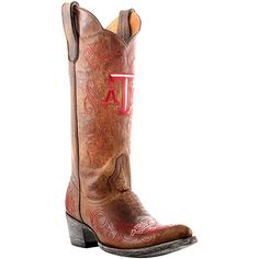 Gameday Texas A & M Aggies Ladies Cowboy Boots