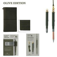Traveler's Notebook - OLIVE EDITION - Back in stock