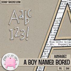 A Boy Named Bored {Alpha}