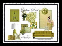 Farben, Innenarchitektur Bretter, Innenfarben, Chartreuse Dekor,  Farbkarten, Farbinspiration