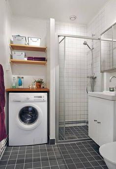 decoracion de lavanderia pequeña - Google Search