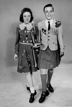 Irish Dancing - this is how I remember Irish dancers looking not in the over the top dresses and wigs they where now!