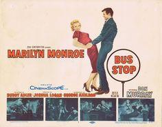 BUS STOP 1956 Marilyn Monroe Title Lobby card