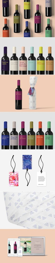 Match Your Personality With a Glass of Vino With Archetype Wine — The Dieline | Packaging & Branding Design & Innovation News
