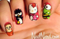 Sanrio Style by Nail Nerd  Nail Art Manicure
