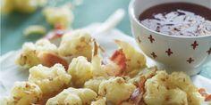 Boodschappen - Tempura van bloemkool met geroosterde bacon